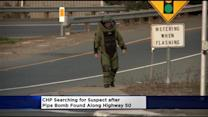 CHP Searching For Highway 50 Pipe Bomb Suspect