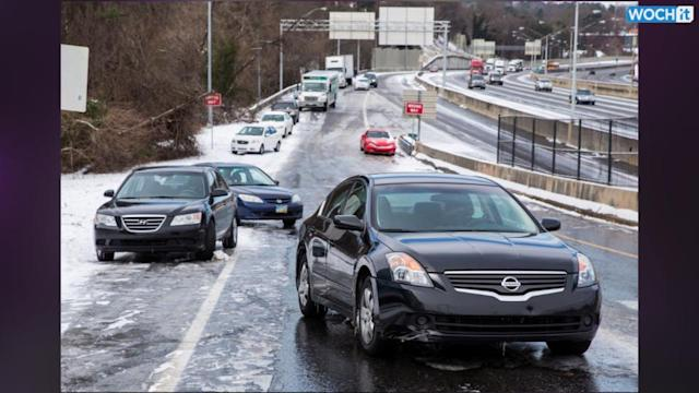Atlanta Drivers Warned Of Another Winter Storm, Problem Is ...