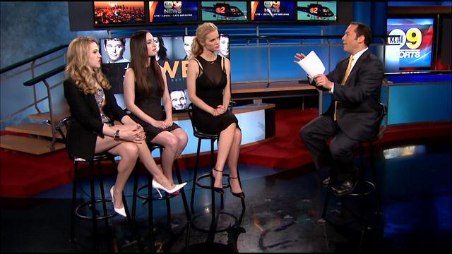 'Friends With Better Lives' Stars Visit KCAL9 At Noon