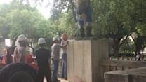 University of Austin Moves Jefferson Davis Statue