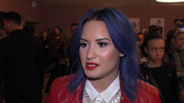 Demi Lovato Dishes On 'The X Factor' Eliminations And Holiday Plans