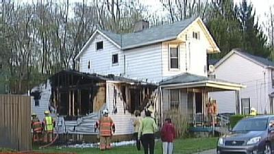 Flames Force Sewickley Family Out Of Home