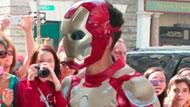 WOWtv - Jaden Smith Wears an Iron Man Costume For Day Out With Kylie Jenner
