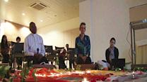 Raw: Prayers for Malaysian Jet Passengers