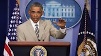 Twitter Gets Snarky Over Obama's Tan Suit