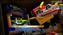 Trucks for Maddox collects 98 toy truck donations