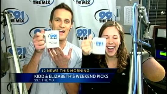 Weekend Picks with 99.1 The Mix