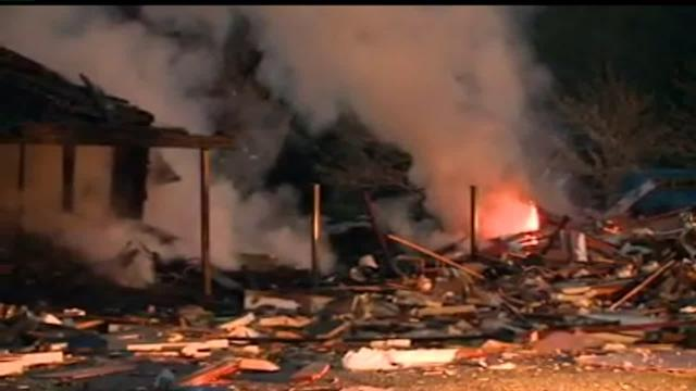 Three Buildings Destroyed in Massive Explosion