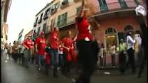 Cards fans party it up in Crescent City