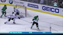 Tyler Seguin finishes upstairs on Crawford