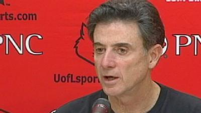 Pitino: Cards Healthy Heading Into Homestretch