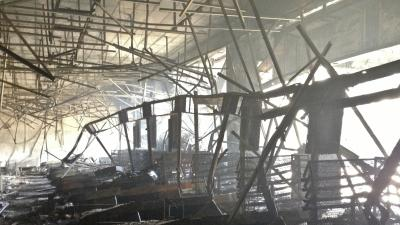 Raw: New Video of Destruction Inside Kenya Mall