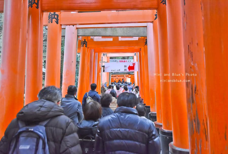 京都景點推薦 伏見稻荷神社 鳥居 怎麼去13