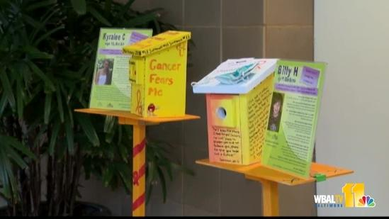 Exhibit brings attention to childhood cancer
