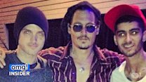 Johnny Depp Befriends Zayn Malik and Alex DeLeon