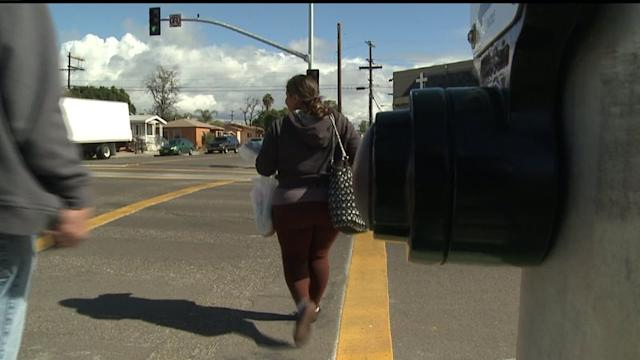 Improvements Made To Dangerous Road In City Heights