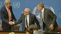 U.S. sees signs of progress in talks with Russia on Syria's chemical weapons