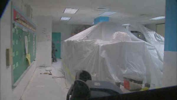 Many NYC school students back to class after Sandy