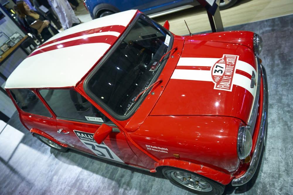1964年參與蒙地卡羅拉力賽的MINI Cooper S