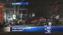 Deadly car crash kills 5 teens on Long Island