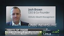 Long, not selling First Solar: Josh Brown
