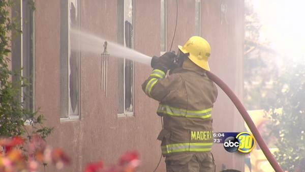 Madera County family loses home in fire