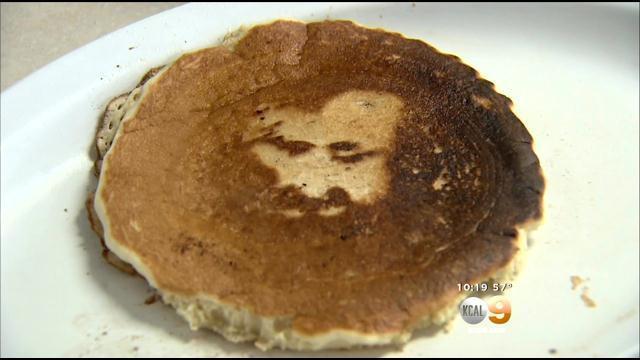 Norco Café Owner Believes Jesus' Face Appeared In Pancake
