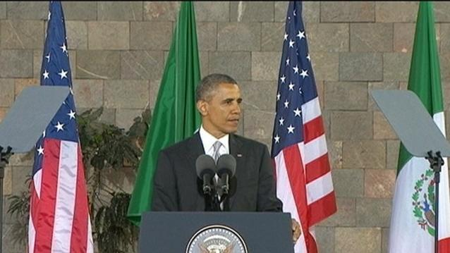 Obama Stresses Importance of Breaking Down Stereotypes Between Mexico, US