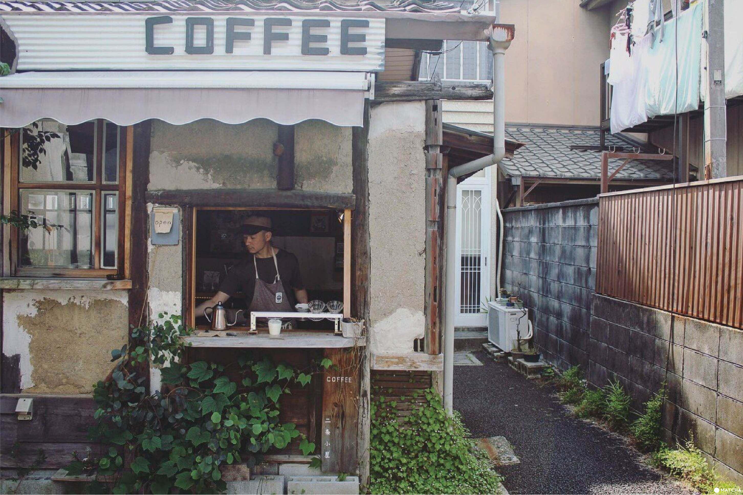 獨特空間構成的二条小屋咖啡