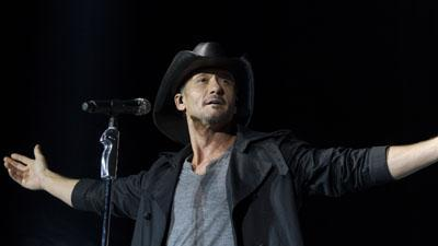 McGraw Leads Country Music Invasion in UK