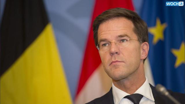 Dutch Premier Halts Search For Ukraine Victims