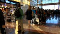 Avoiding Lines on One of the Busiest Travel Days