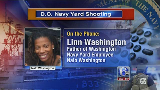Daughter of Temple University professor comes face to face with Washington Navy Yard gunman