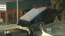 Dozens Injured After Bus Crashes Into Building
