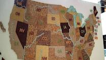 Map of U.S. Made Out of Cereal Revealed in NYC