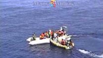Italian Navy Rescues 90 Migrants in Mediterranean