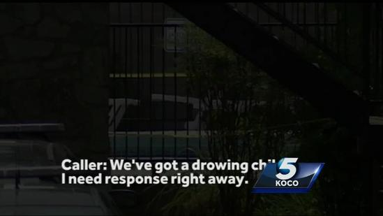 Officer speaks about helping save girl's life after she nearly drowned