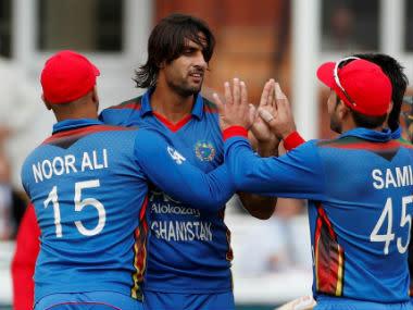 File image of Afghanistan cricket team. Reuters