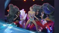 Miley Cyrus Stars At VMA's