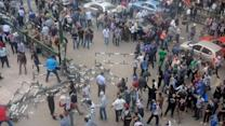 Egyptian people protest president's power grab
