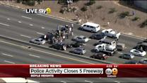 5 Freeway Shut In Both Directions Due To Police Activity
