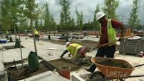 Disabled Veterans Memorial Nearing Completion