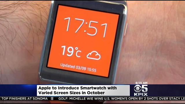 Apple Jumping Into Smartwatch Market This Fall