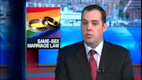 Saturday marks first day of same-sex marriage law