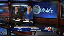 Woman's lotto legacy lives on