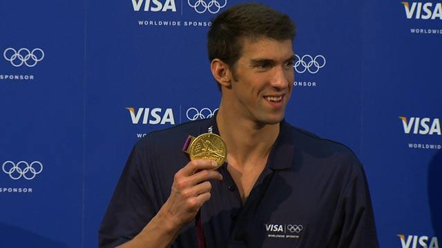 Michael Phelps says goodbye to his fans