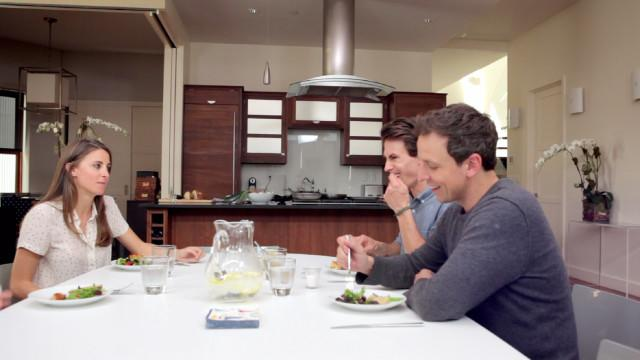 Elettra's Goodness - Seth Meyers Shares a Little Family Secret