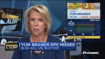 Yum Brands misses on top and bottom line