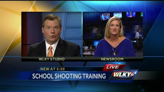 Active shooter training held at Indiana high school
