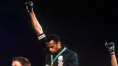 Black power salute remembered ahead of Olympics